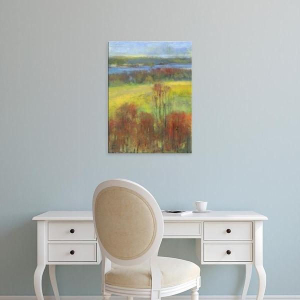 Easy Art Prints H. Thomas's 'Mountain View II' Premium Canvas Art