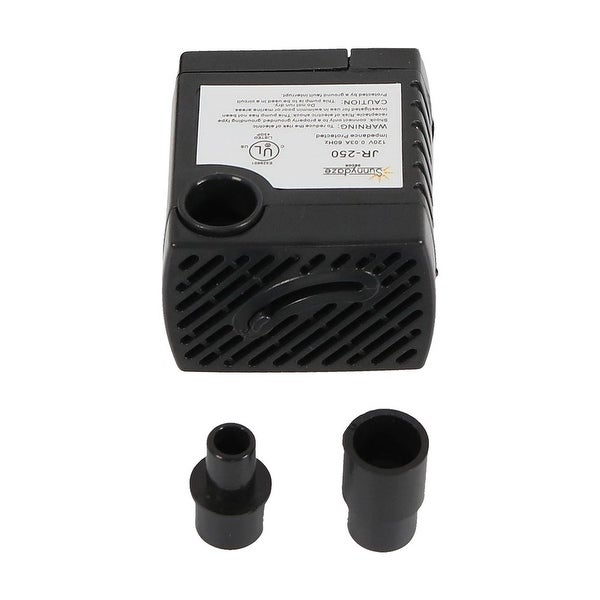 Submersible Outdoor Water Fountain Pump, Indoor or Outdoor Use for Fountains, Hydroponics, Aquaponics, Size Options
