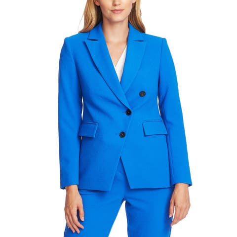 Vince Camuto Womens Blazer Solid Three Button - Deep River