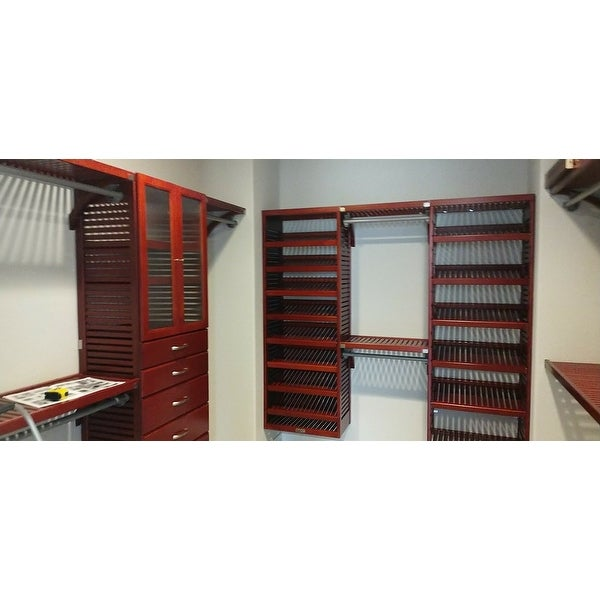 Premier Closet Anizer With 3 Drawers L John Louis Home
