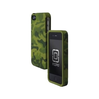 Incipio - EDGE Hard Slider Shell Case for Apple iPhone 4/4S Cell Phones - Olive