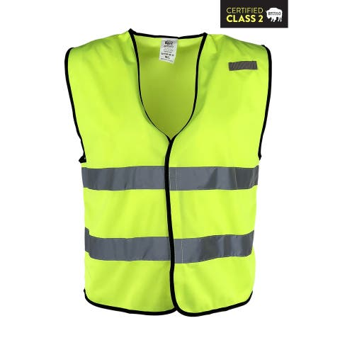 Buffalo Outdoors® Class 2 Hi Vis Reflective Safety Work Vest
