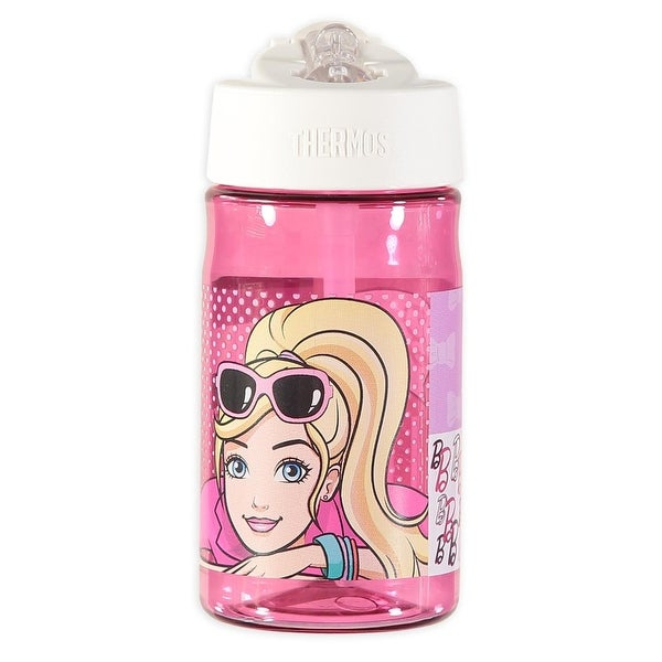 Thermos Barbie 12 OZ Straw Bottle