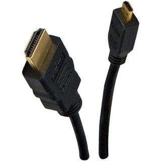 QVS HDAD-2M 2 meter High Speed HDMI to Micro-HDMI Cable with Ethernet