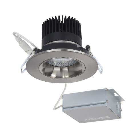 12W LED DW Downlight Gimbaled 3.5 in 3000K 120V Round Remote Driver