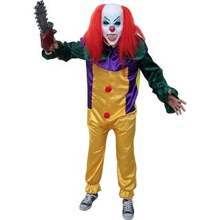 Adult Killer Prank Clown It Pennywise Costume