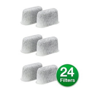 Replacement Charcoal Water Filter For Cuisinart DCC-1100BK Coffee Machines (4 Pack)