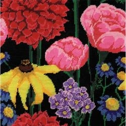 Stitched in Yarn Tobin Jacobean Needlepoint Kit 12 by 12-Inch