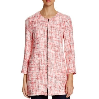 Sanctuary Womens City Jacket Tweed Collarless