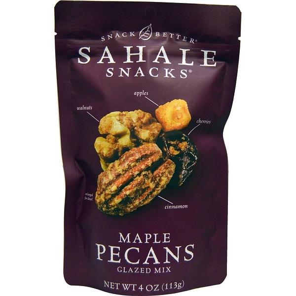 Sahale Snacks Glazed Mix - Maple Pecans - Case of 6 - 4 oz.