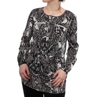 INC International Concepts Women Regular Tunic Top
