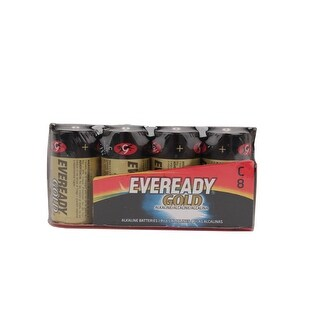 Eveready A93-8 Gold Alkaline Batteries C 8 Batteries/pack Evea938