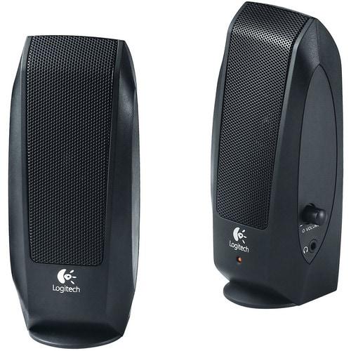Logitech 980-000012 S-120 Speaker System - Black