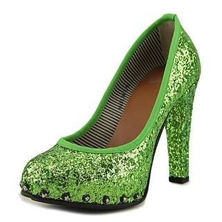 Project Rucoline Margot Elegance   Open Toe Canvas  Platform Heel