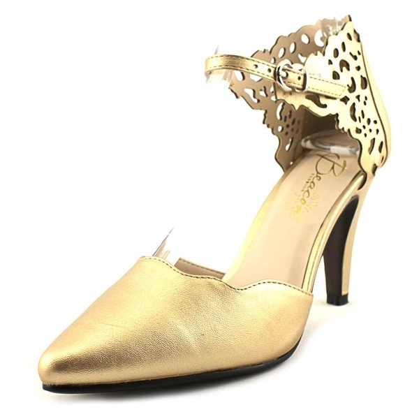 Beacon Scarlett Women Gold Pumps