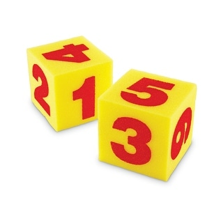 Giant Soft Cubes Numeral 2/Pk 5