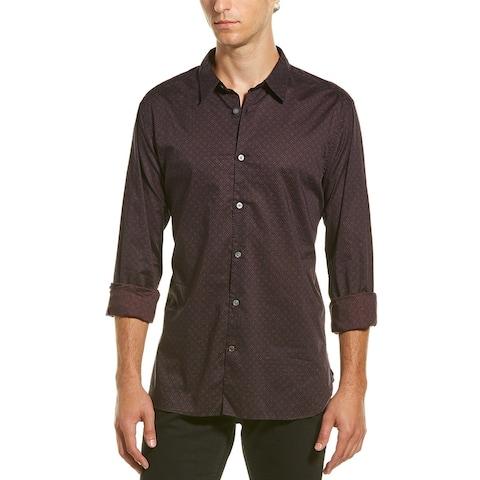John Varvatos Star U.S.A. Woven Button-Down Shirt