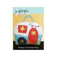 Jennifer Jangles Happy Camper Bag Sewing Ptrn