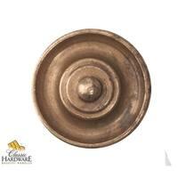 Bosetti Marella 100478 Vintage 1-3/16 Inch Diameter Mushroom Cabinet Knob