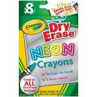Crayola Wash Dry Erase Crayons 8Pk