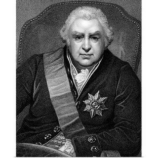 """Portrait of Joseph Banks"" Poster Print"
