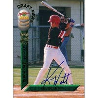 Signed Witt Kevin Kevin Witt 1994 Signature Rookies Baseball Card autographed