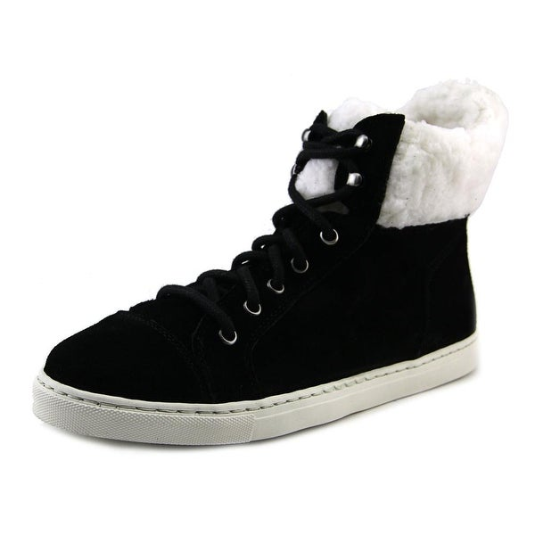Splendid Snow Angel Women Suede Black Fashion Sneakers