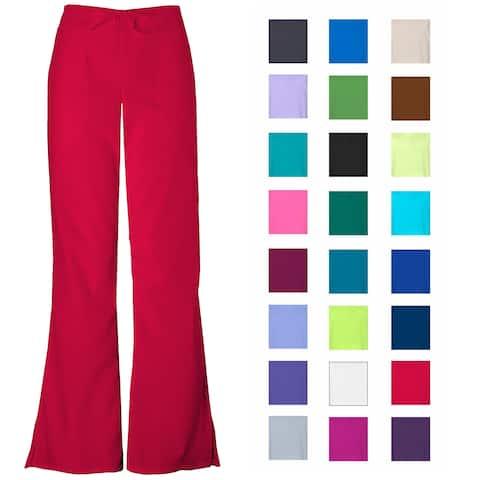 Women's Flare Leg Scrub Cargo Pants DSF Medical Uniform 400