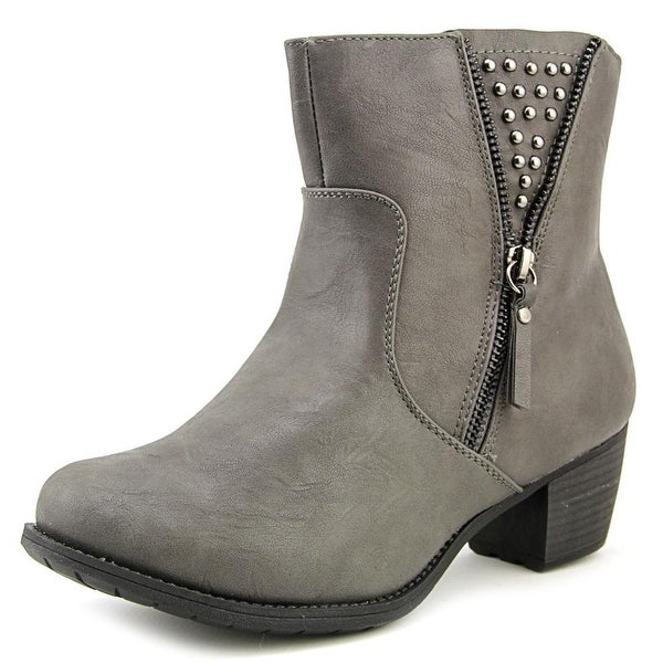 Easy Street Rylan Women N/S Round Toe Synthetic Gray Ankle Boot