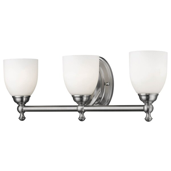 "Millennium Lighting 623 3-Light 21-1/2"" Wide Bathroom Vanity Light with Glass Shades - N/A"