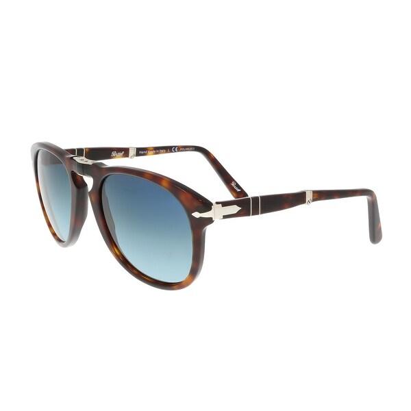 deeebd2623 Persol PO0714 24 S3 Havana Aviator Folding Steve McQueen Sunglasses - 54-21-