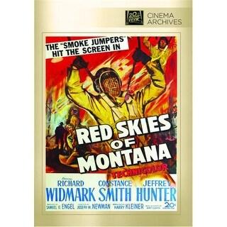 Red Skies Of Montana DVD Movie 1952