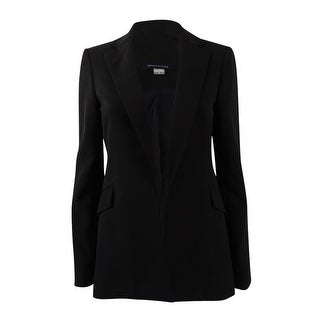 Tommy Hilfiger Women's Twill Blazer - Black