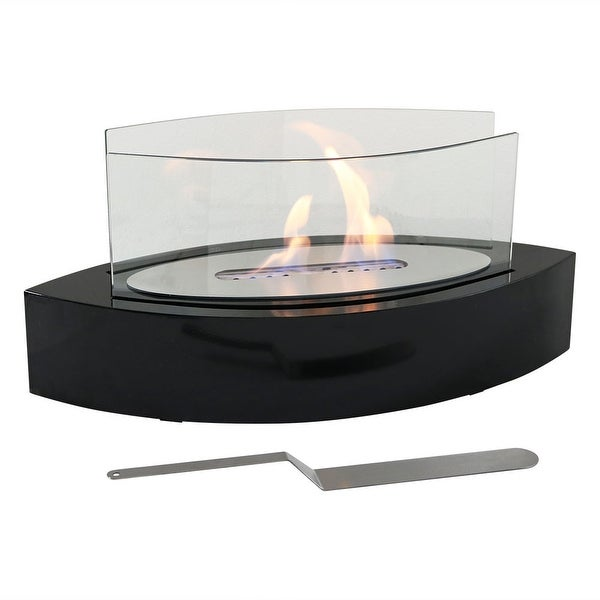 Sunnydaze Barco Ventless Tabletop Bio Ethanol Fireplace