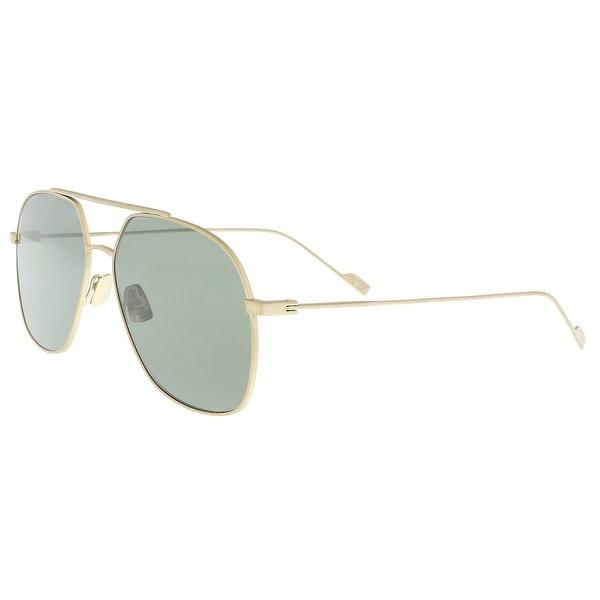 43135e5e3f Shop Saint Laurent SL 192 T-004 Black Aviator Sunglasses - 60-15-145 ...