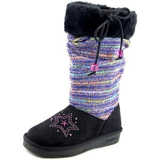 Skechers Glamslam - Classic Charmer Youth Round Toe Canvas Winter Boot