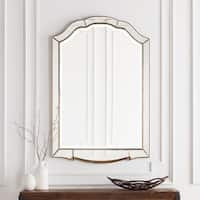 "Hector Elegant Antique Accented Arched Wall Mirror 31.5"" x 47.6"" - 31.5"" x 47.6"""