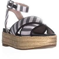 Nine West Showrunner Ankle Strap Sandals, Black
