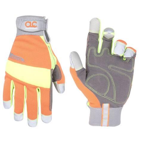 CLC 128L FlexGrip HiVisibility Gloves, Large