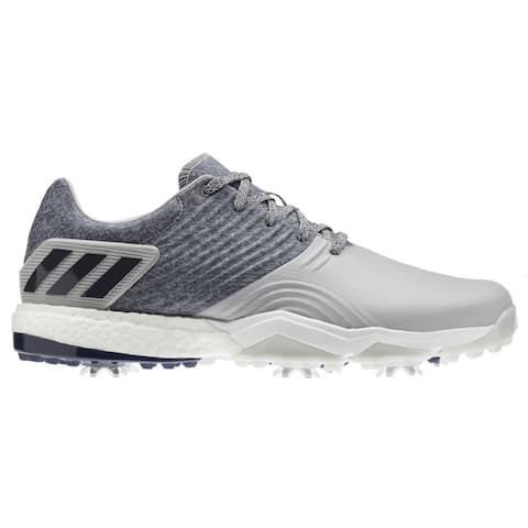 Men's Adidas Adipower 40RGED Grey/Navy Golf Shoes F34192 (MED)
