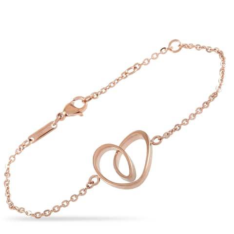 Calvin Klein Warm Rose PVD Stainless Steel Bracelet