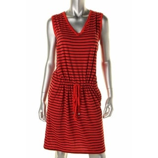 Two by Vince Camuto Womens Casual Dress Jersey Striped - xs