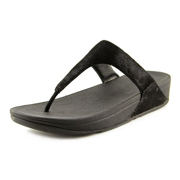 FitFlop Shimmy Women Open Toe Synthetic Black Flip Flop Sandal