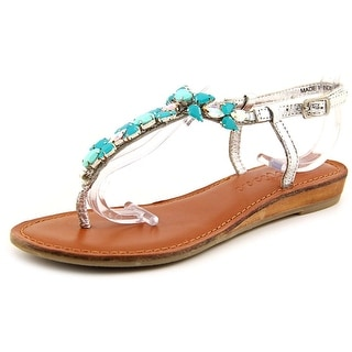 Matisse Tender Open Toe Leather Thong Sandal