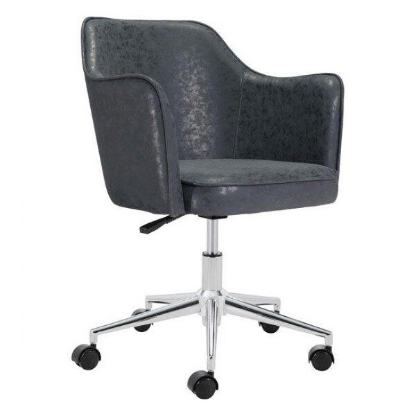 Zuo Modern 100771 Keen Office Chair Vintage Black Free Shipping Today 24870631
