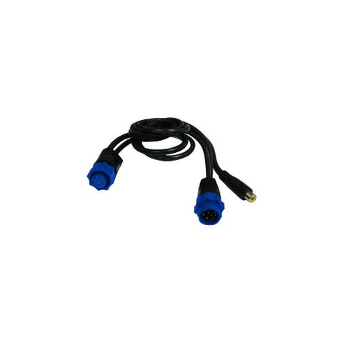 Lowrance 000-11010-001 Video Adapter Cable f / HDS Gen2 New - Black