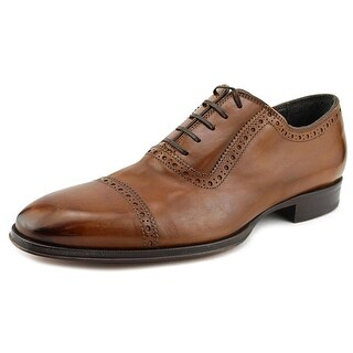 To Boot New York Windsor Men Wingtip Toe Leather Tan Oxford