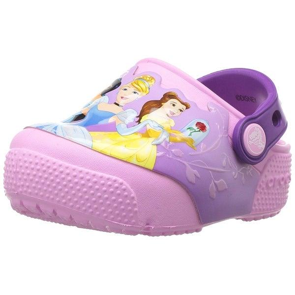 7dcfd8c84b26 Shop Crocs Kids  Fun Lab Light-up Princess Clog - Free Shipping On ...
