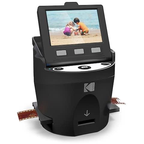 KODAK SCANZA Digital Film & Slide Scanner  Converts 35mm, 126, 110, Super 8 & 8mm Film Negatives & Slides to JPEG