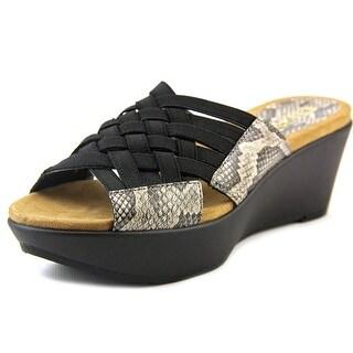Chaps Wilma Women Open Toe Synthetic Wedge Sandal
